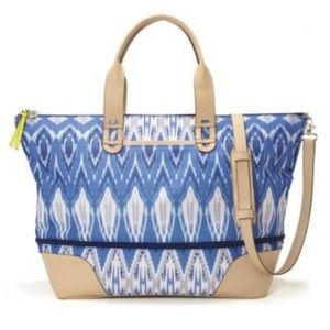 Stella & Dot Indigo iKat Getaway Bag